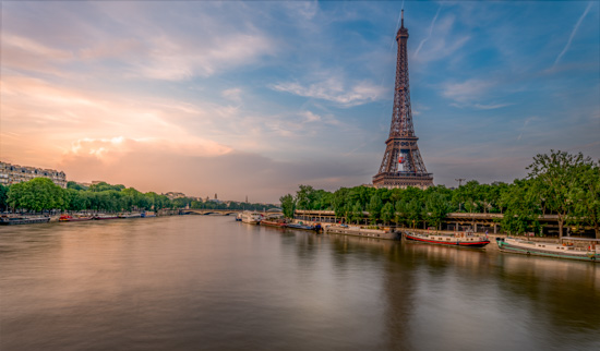 art prints - Paris is like a Postcard by Rick Walter