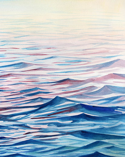 art prints - Serenity Seas by Linda Dion