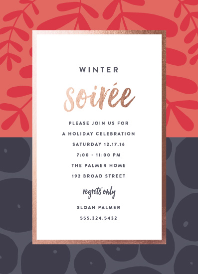 party invitations - Mixed Prints by Olivia Raufman