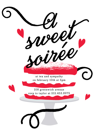 party invitations - Sweet Soiree by Jennifer Lew
