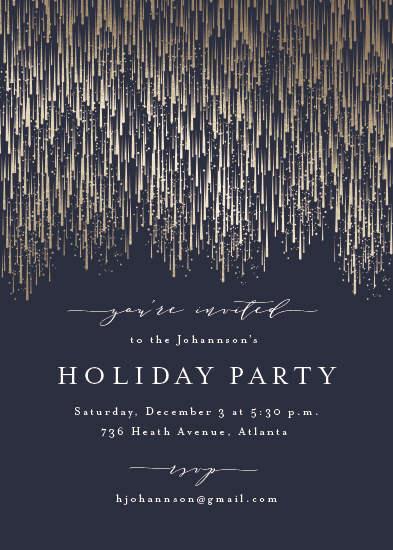 party invitations - Swank Soirée by Kristie Kern