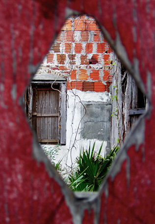 art prints - Peep Hole by Debbie Barbare
