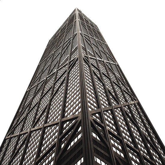 art prints - John Hancock Tower by Amelia Lepak
