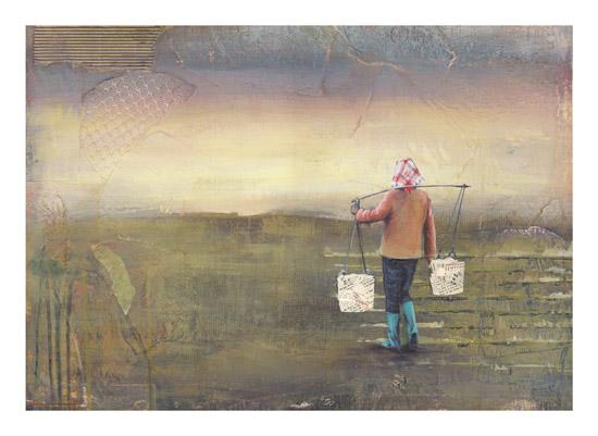 art prints - Farming in Dali by Holly