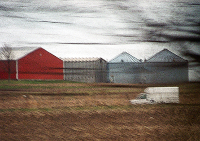 art prints - View From the Train by Debbie Barbare