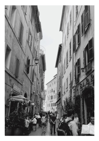 art prints - A day in Rome by Tiki Keller