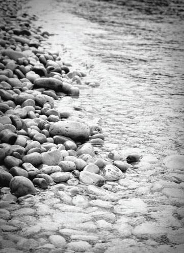 art prints - Shoreline at Schoolhouse Beach by Jessica Brooks