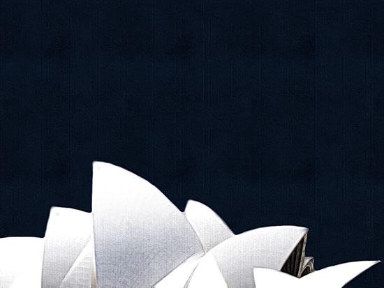 art prints - Sydney rising by Maja Cunningham
