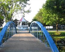 Blue Bridge by Christine Rae