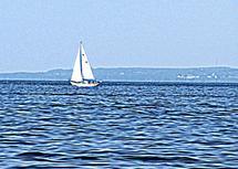 Springtime Sail by Christine Rae
