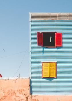 La Boca shapes, Buenos Aires