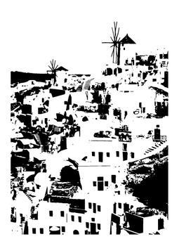 Impression of a Greek Hillside