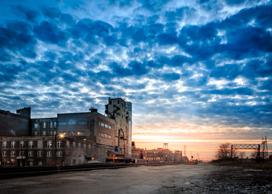 art prints - Urban Sunset by Rick Walter