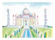 Taj Mahal by June Chang