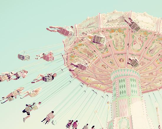 art prints - Sky Coasters by Stephanie Sherman