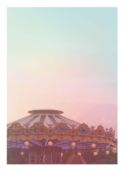 art prints - Carousel Colors by Madison McCormick