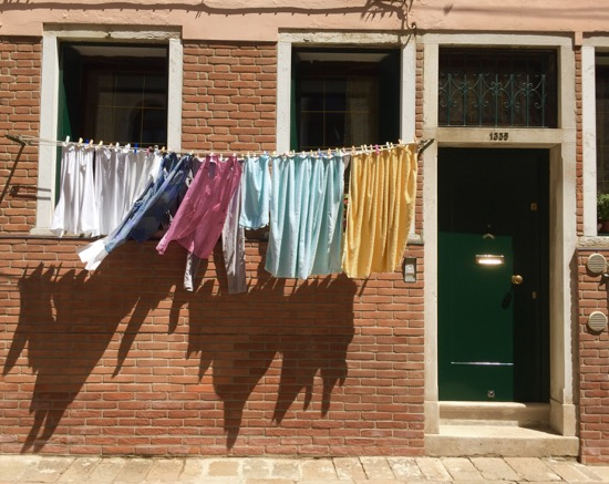 art prints - Drying Clothes by Kate Gilliland