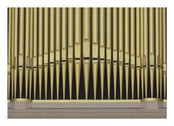 Musical Organ Pipes