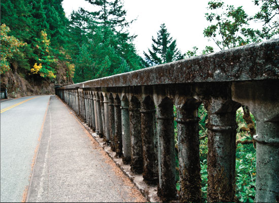 art prints - Columbia River Gorge Bridge by Jessica Langley