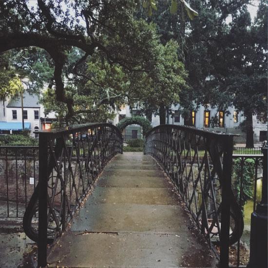 art prints - Romantic Bridge in Savannah by Jessica Langley