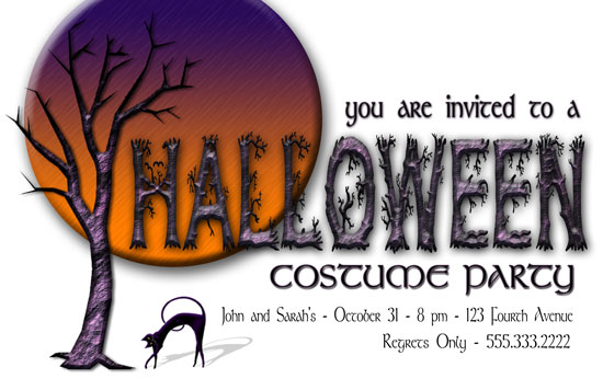 party invitations - Spook Fest by Sheri C. Hall