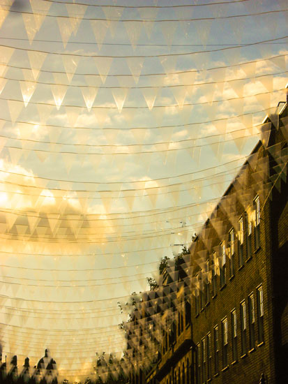 art prints - Vibrant summer sunset at Covent Garden by Bethania Lima