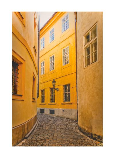 art prints - Golden Streets of Prague by Mel P