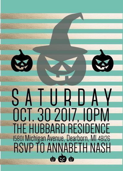 party invitations - Halloween Nights by Mya Mallad