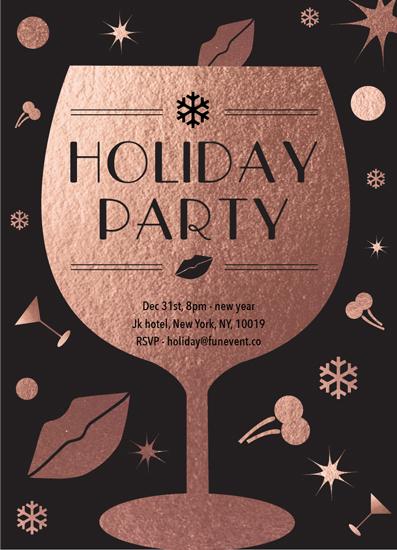 party invitations - holiday card by JEONGKYUN AHN