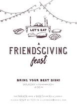 A Friendsgiving Feast by Karly Rose Sahr