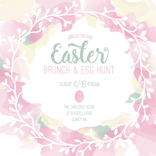 party invitations - Elegant Easter by Jill