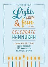 Lights and Latkes by Tiki Keller