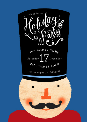 party invitations - Get The Party Crackin' by 24th and Dune