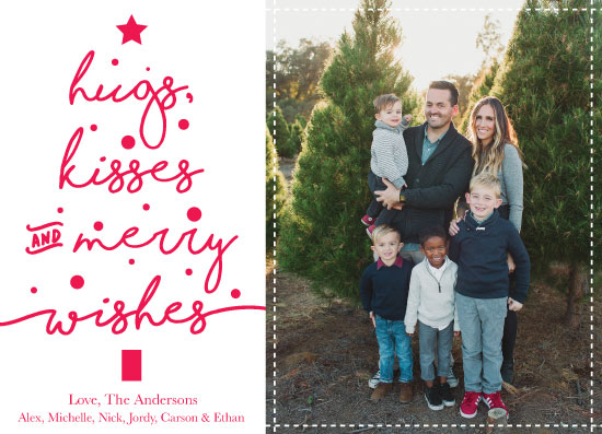 holiday photo cards - Merry Wishes by Jessica Brooks