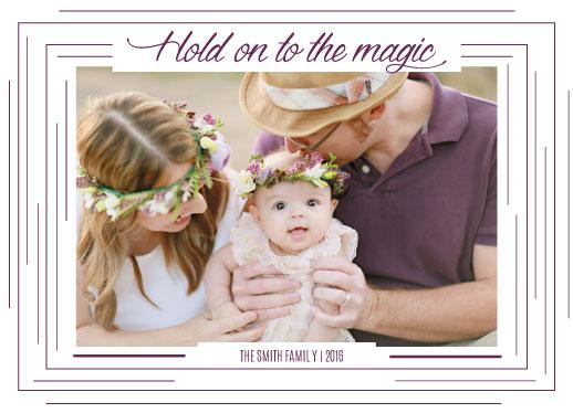 holiday photo cards - Magic by Mya Mallad