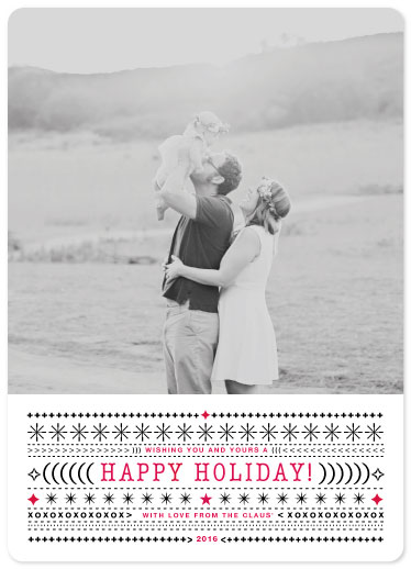 holiday photo cards - Happy Flourished Holiday by Susan Uedelhofen