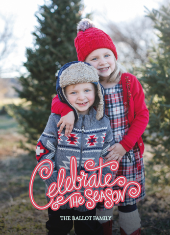 holiday photo cards - Celebrate the Season by Margaret Williams