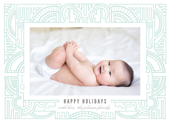 holiday photo cards - Abstract Outlines by Katie Zimpel