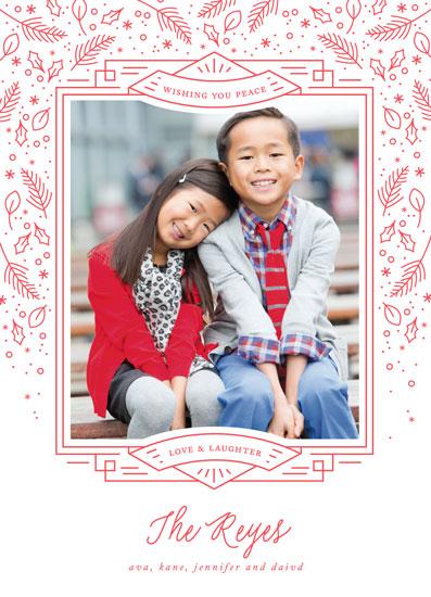 holiday photo cards - Holiday Delight by Jennifer Postorino