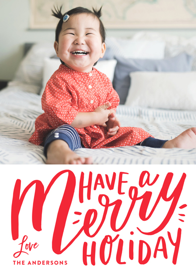 holiday photo cards - Mildred by Carrie ONeal