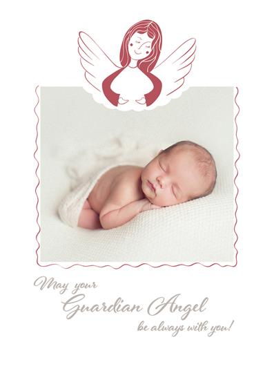 holiday photo cards - Guardian Angel by Katya Zhauryd