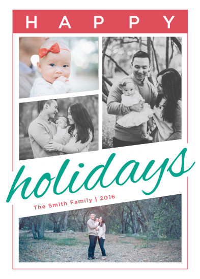 holiday photo cards - Holiday Angles by Melanie Kohler
