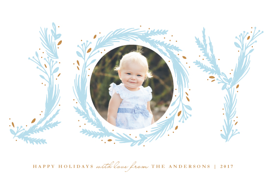 holiday photo cards - Joyous by Elly