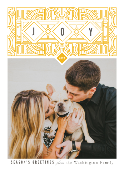 holiday photo cards - Diamond Joy by Katie Zimpel