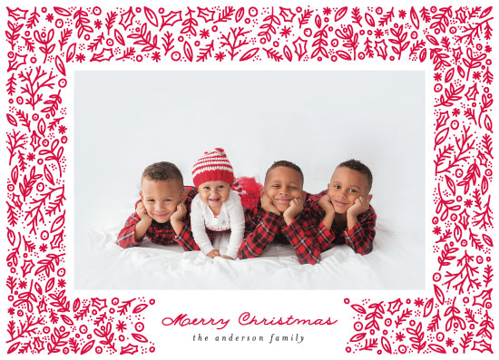 holiday photo cards - Festive Frame by Bethan