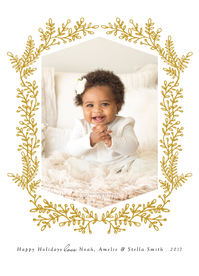 holiday photo cards - Sweet Flora by Elly