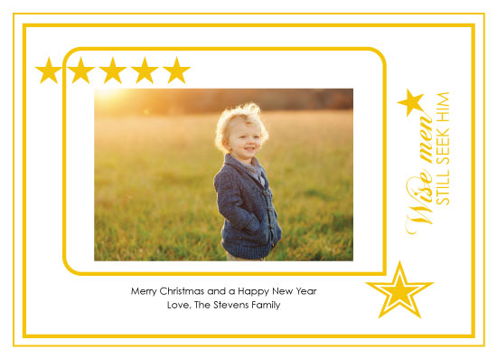 holiday photo cards - Wise Men by LindaM