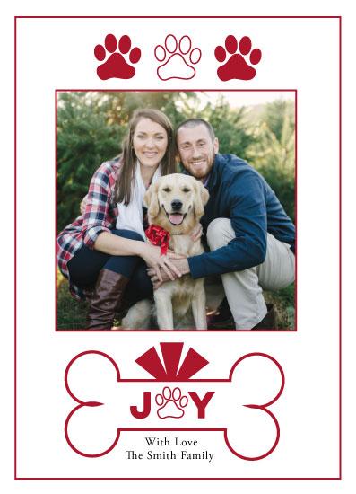 holiday photo cards - Joyful Pets by LindaM
