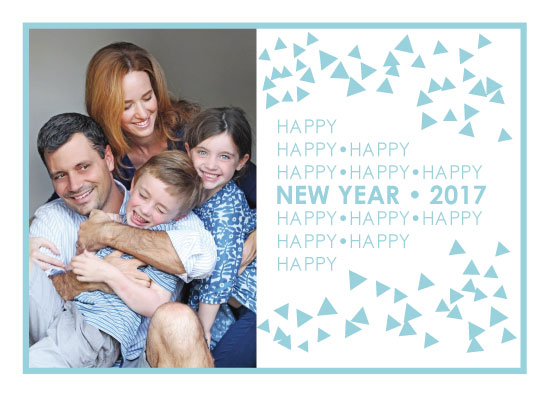 holiday photo cards - Happy Happy New Year by LindaM