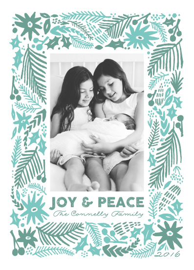 holiday photo cards - Winter Flurry by Surface Love